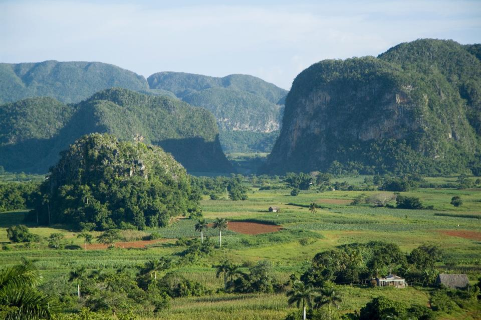 Le riserve classificate dall'Unesco , Viñales , Cuba