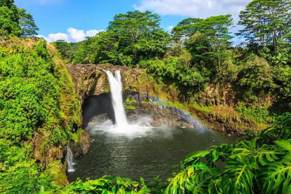 îles; big island; hawaï, hawaii, amérique, etats-unis, USA, océan, hilo, rainbow falls, Wailuku, rivière