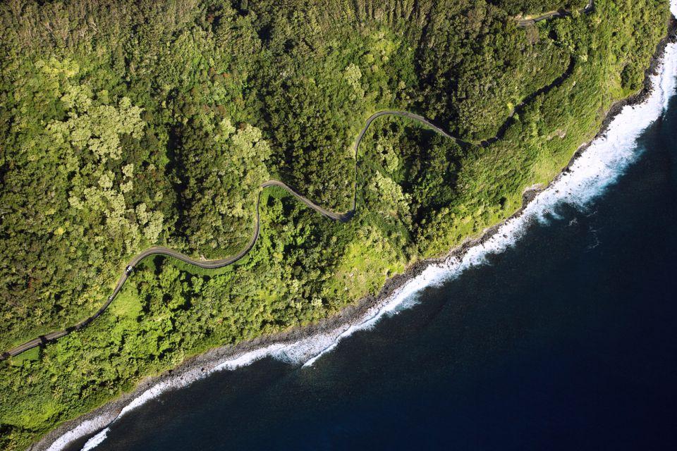 Les excursions, maui, hawaï, hawaii, amérique, etats-unis, USA, océan, volcan, route, océan