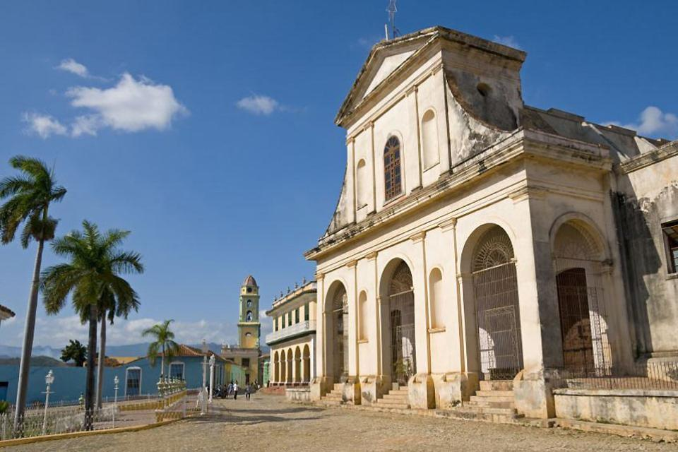 Die Kolonialstädte , Trinidad, ein Beispiel für Kolonialarchitektu , Kuba