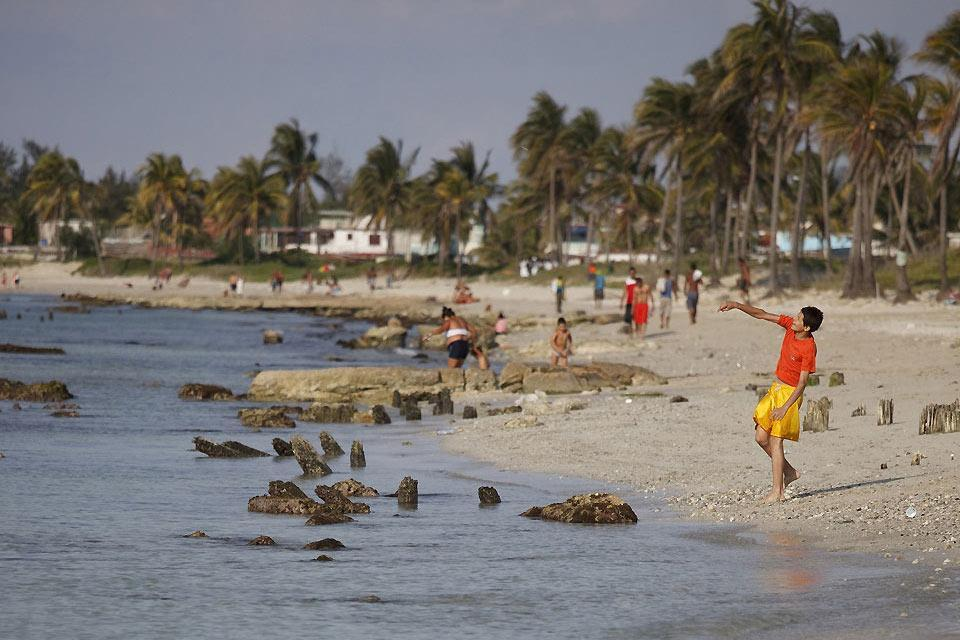 The beaches of Havana , Cuba