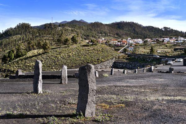 Les paysages, volcan, ile, canaries, espagne, europe, san antonio, teneguia