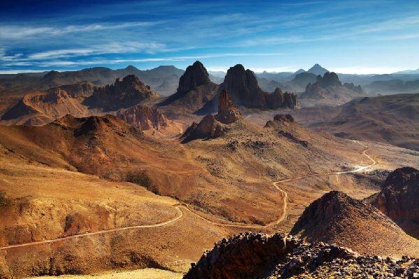 The Assekrem , Volcanic landscapes , Algeria