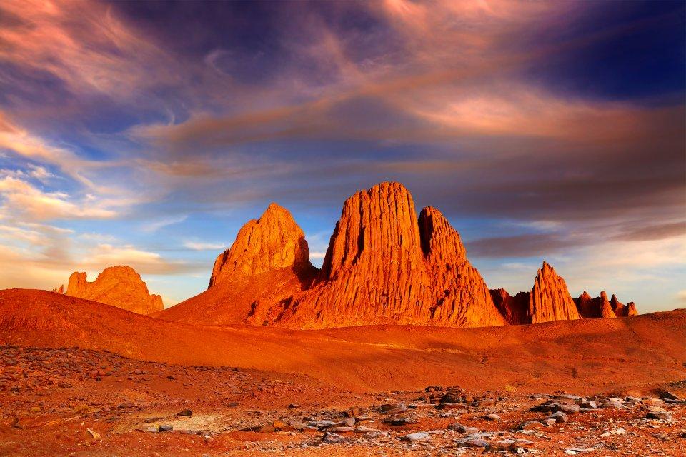 El Assekrem en las montañas del Hoggar, El Assekrem, Los paisajes, Argel, Argelia
