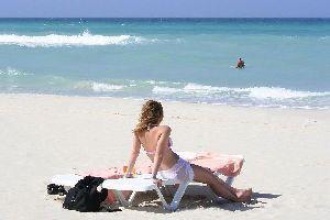The beaches of Varadero , Cuba