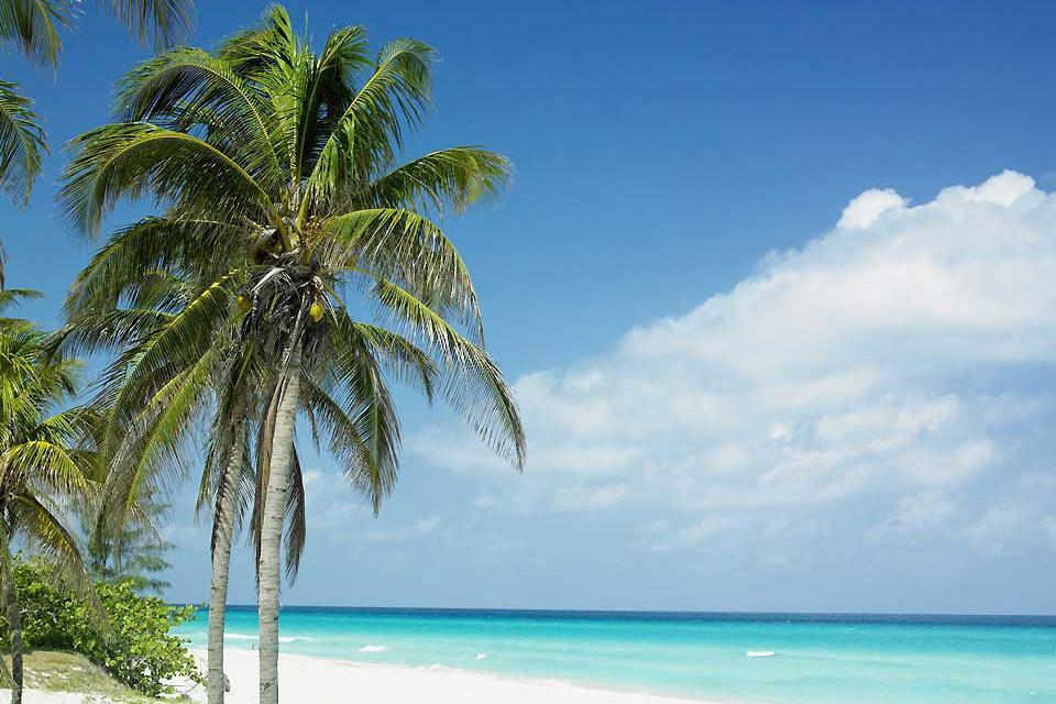 The beaches of Varadero , Cuba