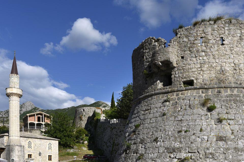 Les monuments, stari bar, montenegro, monténégro, ruines, europe, croatie