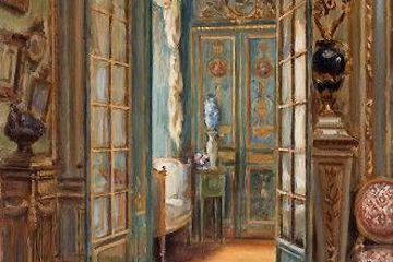 Le petit salon dit « Fragonard » de H. Tenre??, le musée Angladon, Les arts et la culture, Provence Alpes Côte d'Azur