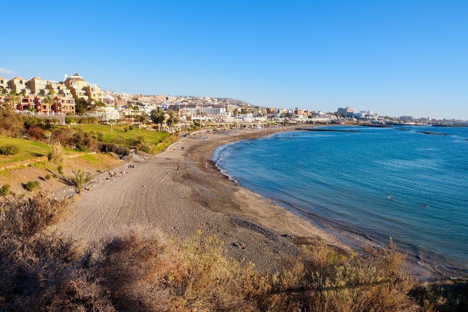 Les côtes, tenerife, espagne, playa, fanabe, canaries, mediterranée, mer