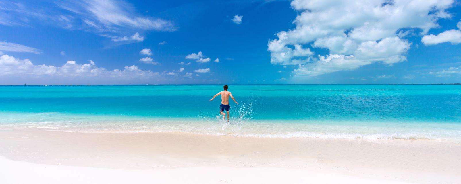 Las playas de los Cayos, Las costas, Cuba