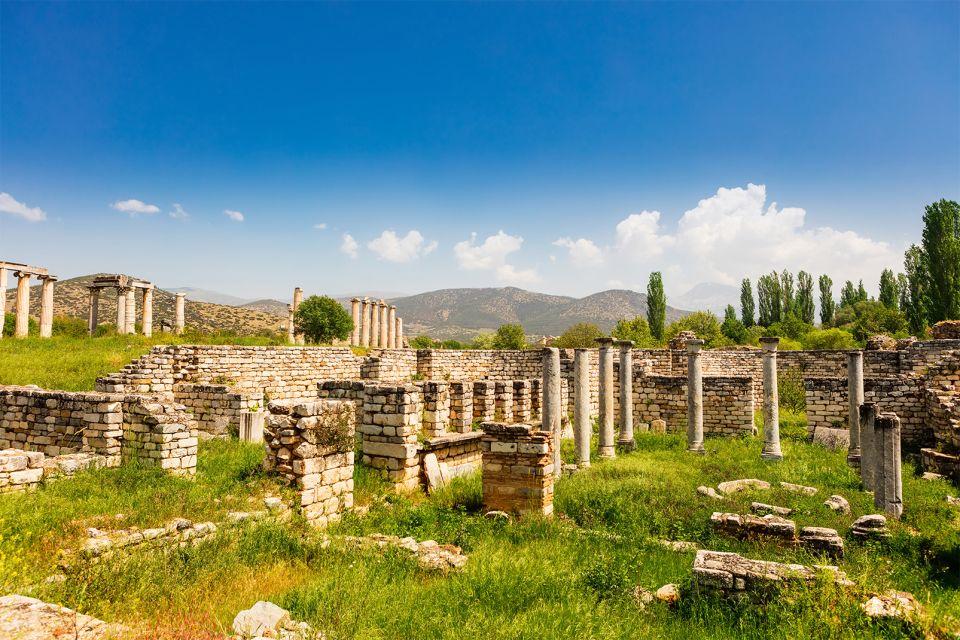 , Le site antique d'Aphrodisias, Les monuments, Région d'Izmir