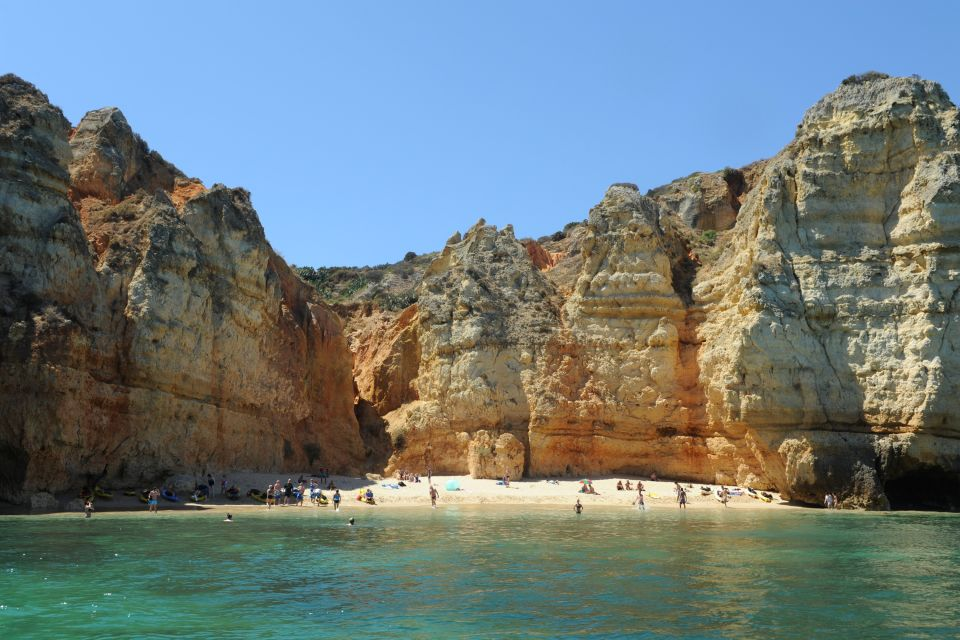 Les côtes, ponta, piedade, lagos, algarve, portugal, falaise, littoral, atlantique
