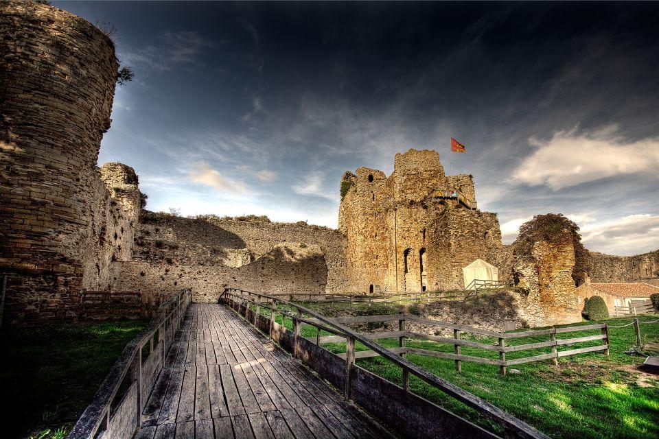 , Le château de Talmont, Les monuments, Pays de la Loire