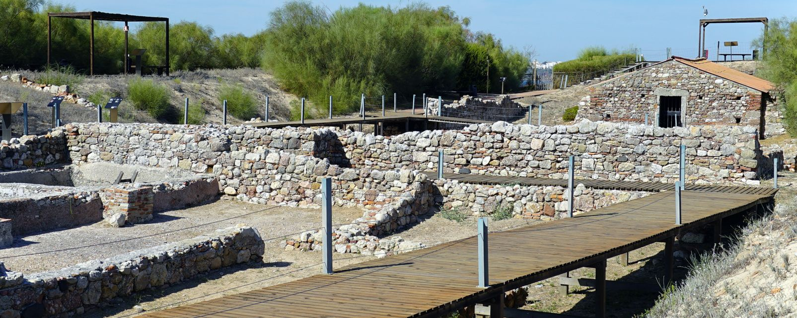 Les monuments et les balades, Europe, Portugal, Alentejo, Troia, Ruines Romaines