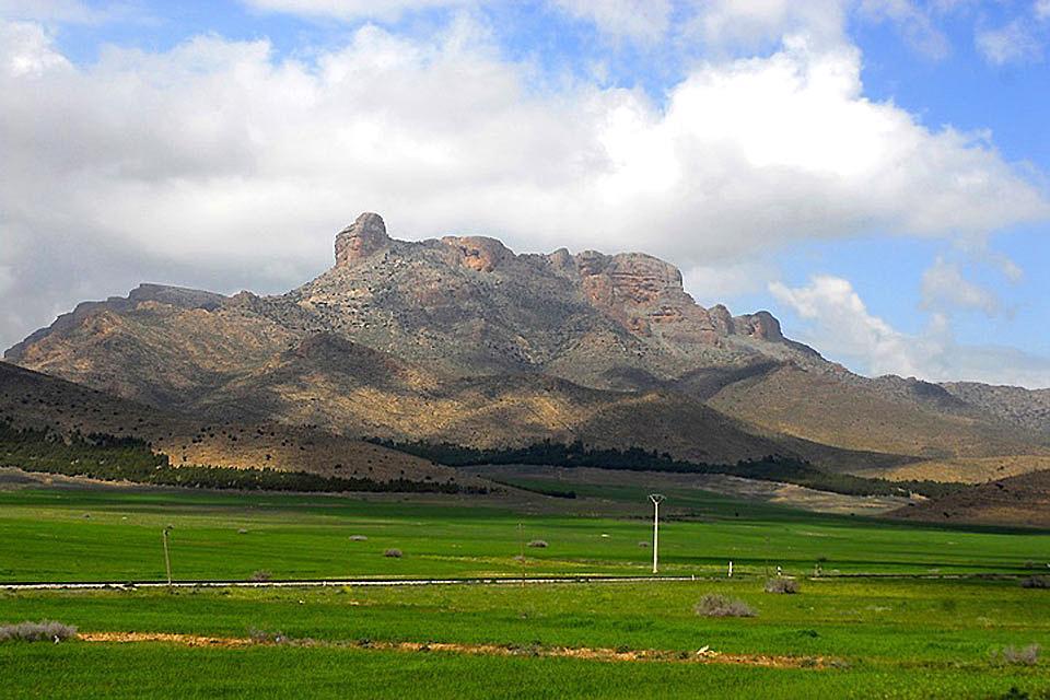Las montañas del Norte , Argelia
