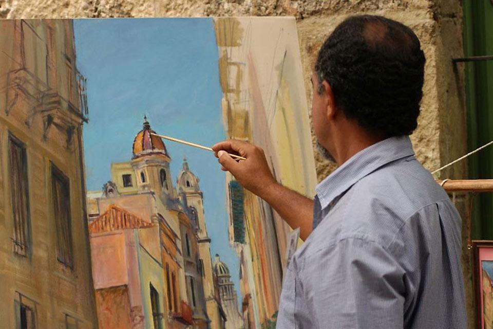 Painting , Cuba
