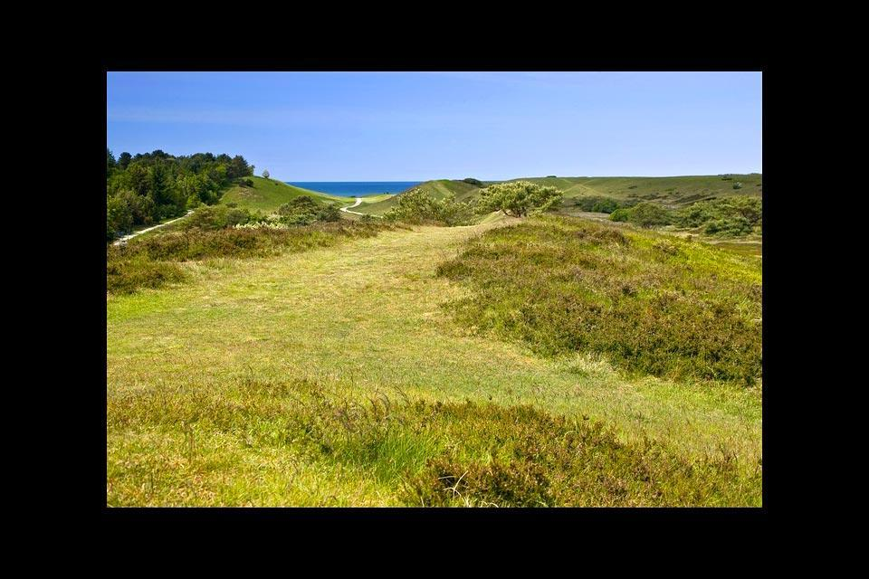 Le chemin côtier de la Seeland , La réserve naturelle de Heatherhill , Danemark