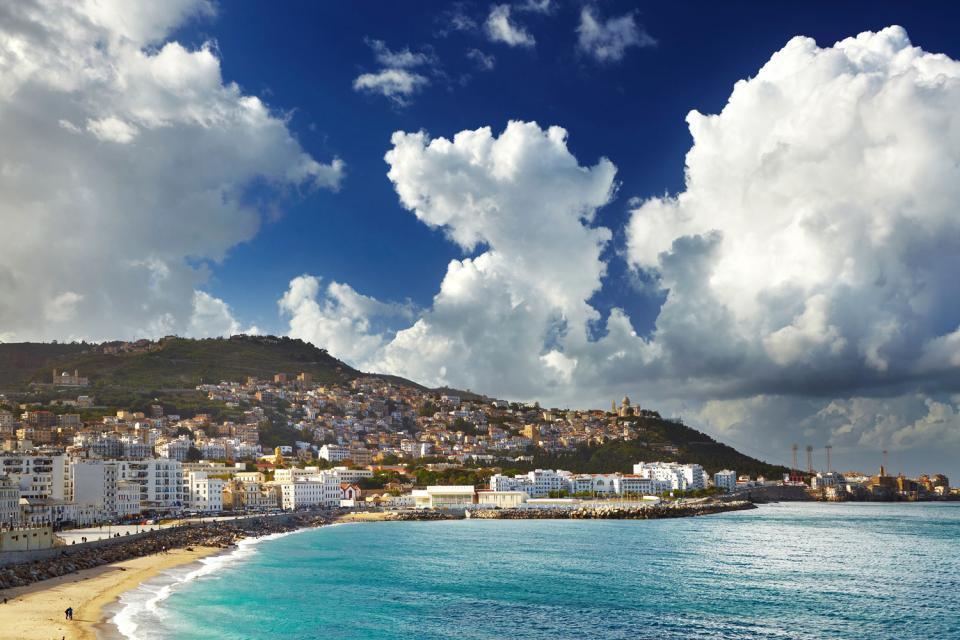 The Turquoise coast , Algeria
