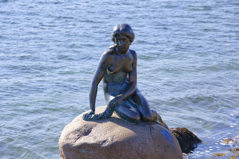 La Petite Sirène , La petite sirène de Copenhague , Danemark