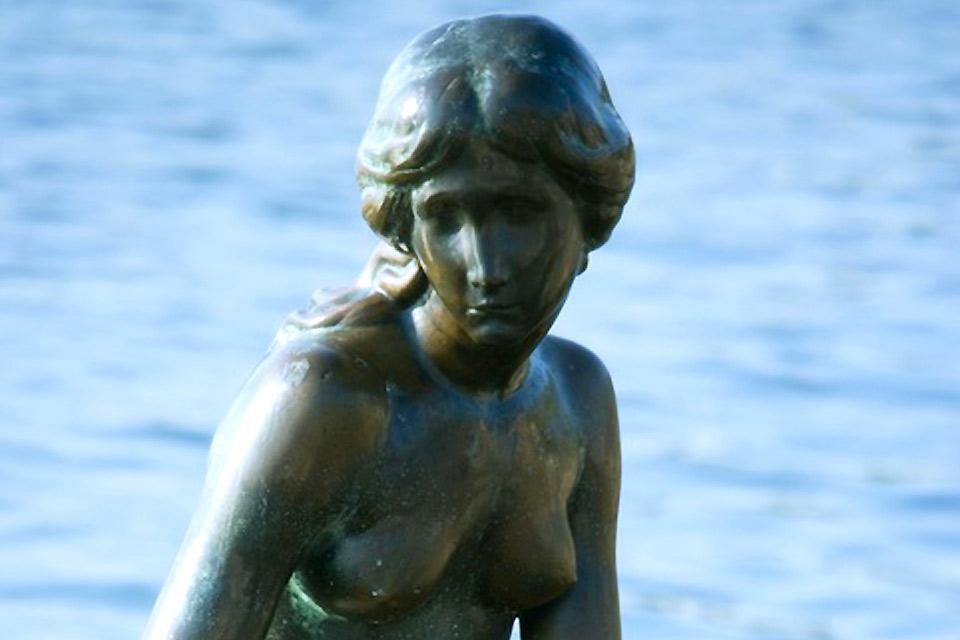 La Petite Sirène , La petite sirène vue de près , Danemark