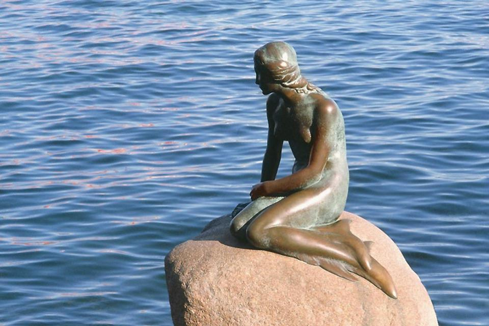 La Sirenetta , La famosa sirenetta di Copenaghen , Danimarca