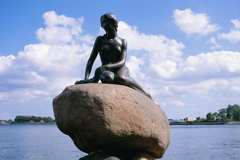 La Sirenetta , Un emblema celebre di Copenaghen , Danimarca