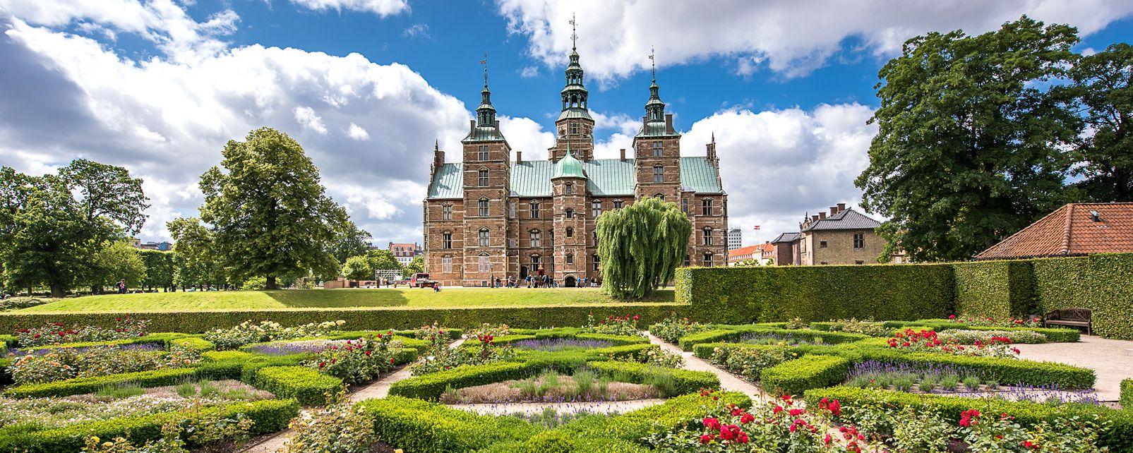 Les châteaux royaux , Le château de Kronborg à Helsingør , Danemark