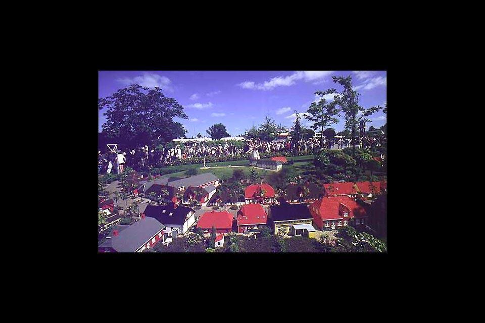 Il parco Legoland , Danimarca
