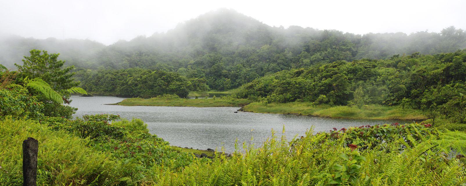 Die Flüsse, Die Landschaften, Dominica