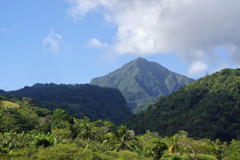 Die Gebirgslandschaften, Die Berge, Die Landschaften, Dominica