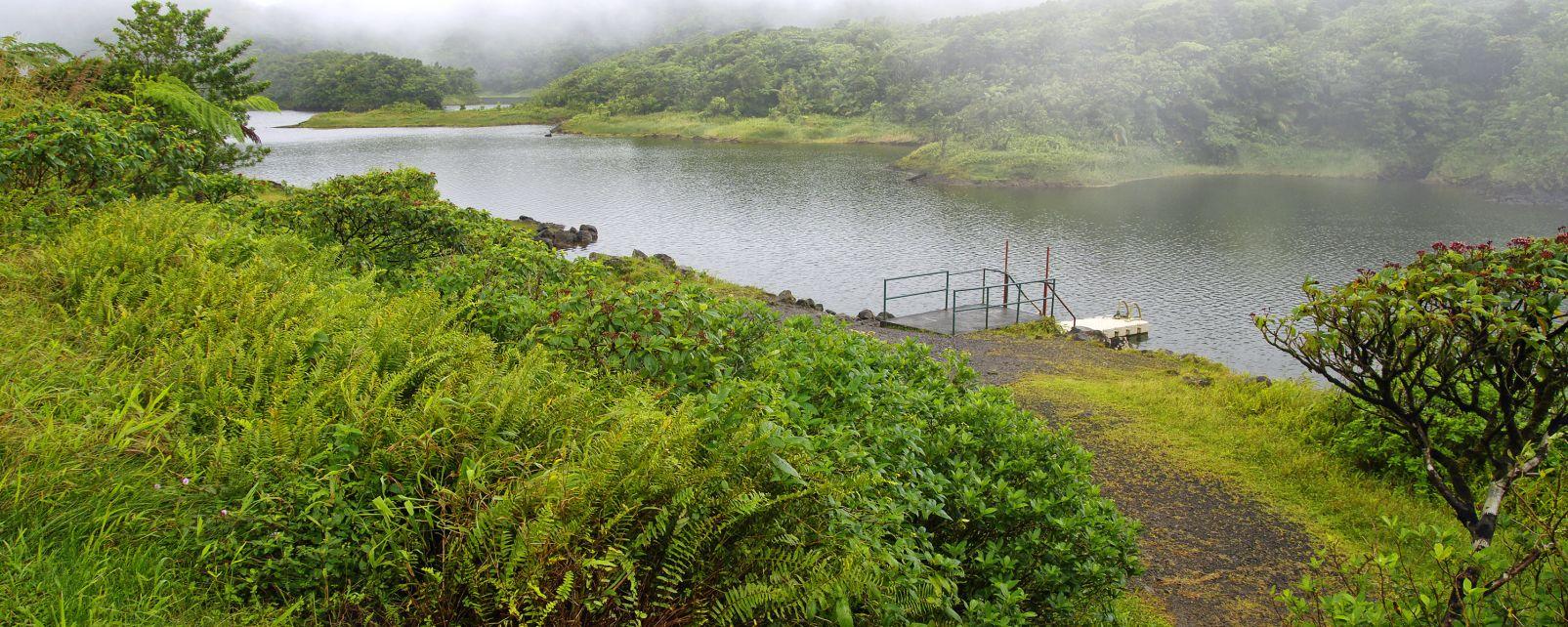 Der Nationalpark Morne-Trois Pitons, Der Nationalpark Trois Pitons, Die Landschaften, Dominica
