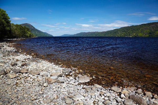 Le Loch Ness , Le Loch Ness en Écosse , Royaume-Uni