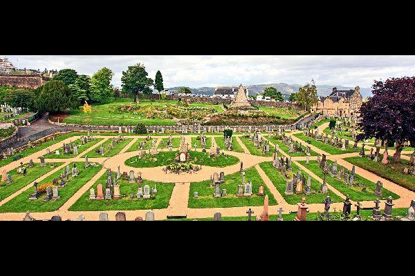Le Lowlands , Cimitero della città vecchia, Scozia , Regno Unito
