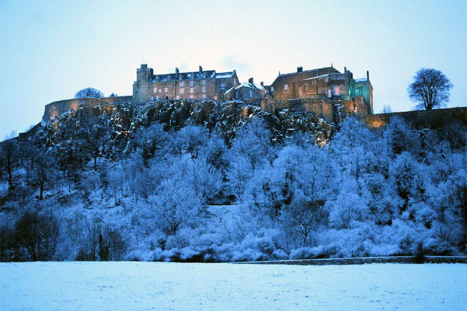 Le Lowlands , Castello di Stirling, Scozia , Regno Unito