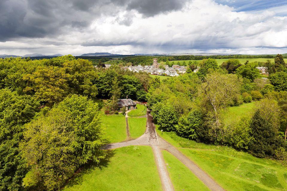 Le Lowlands , Le Lowlands, Scozia , Regno Unito