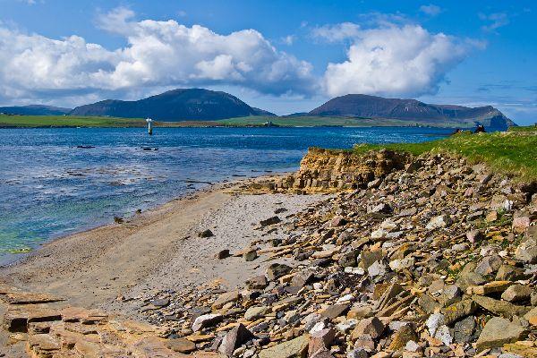 Le Orcadi e le Shetlands , Shetland, Scozia , Regno Unito