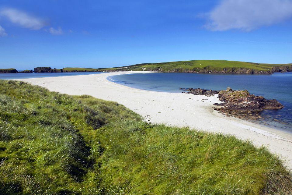 Le Orcadi e le Shetlands , Isole Orcadi e Shetland, Scozia , Regno Unito