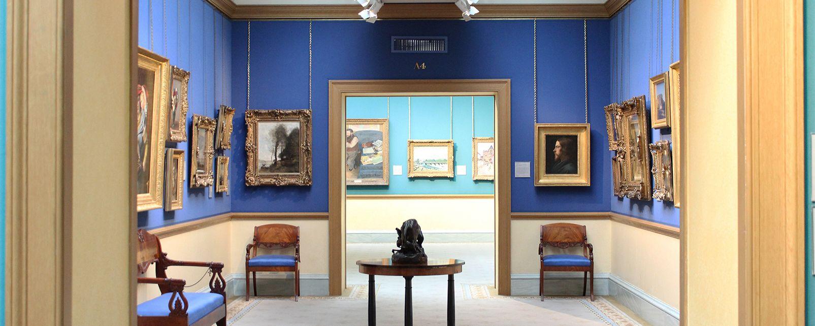 La National Gallery a Edimburgo , La National Gallery of Scotland di Edimburgo , Regno Unito