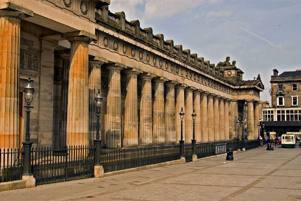 The National Gallery in Edinburgh , United Kingdom