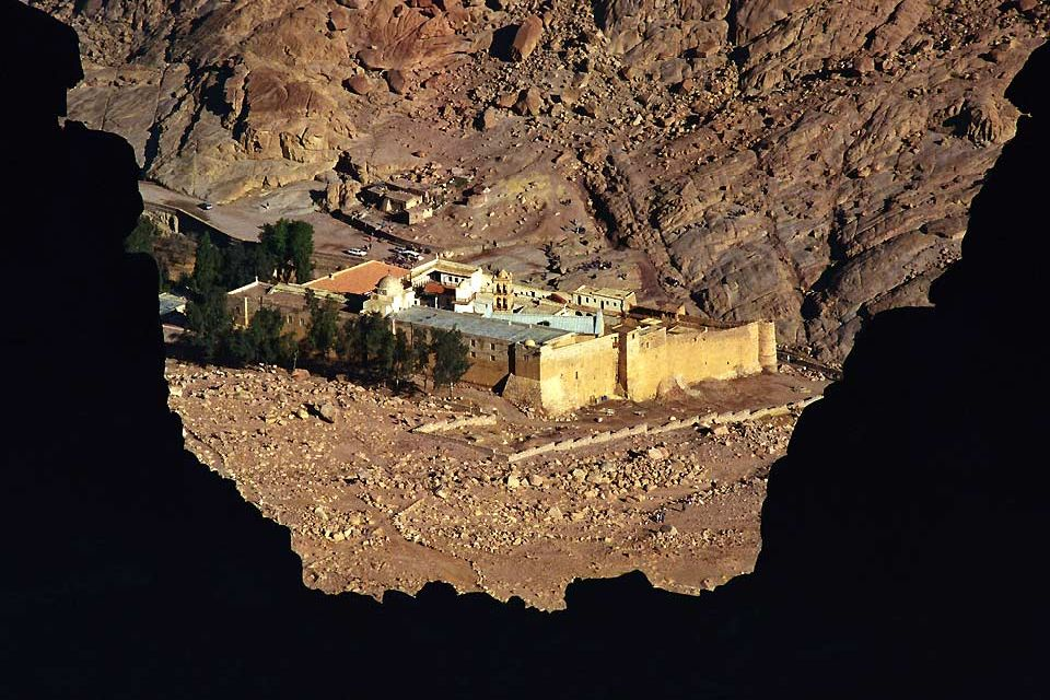 , El desierto arábigo, Los paisajes, Egipto