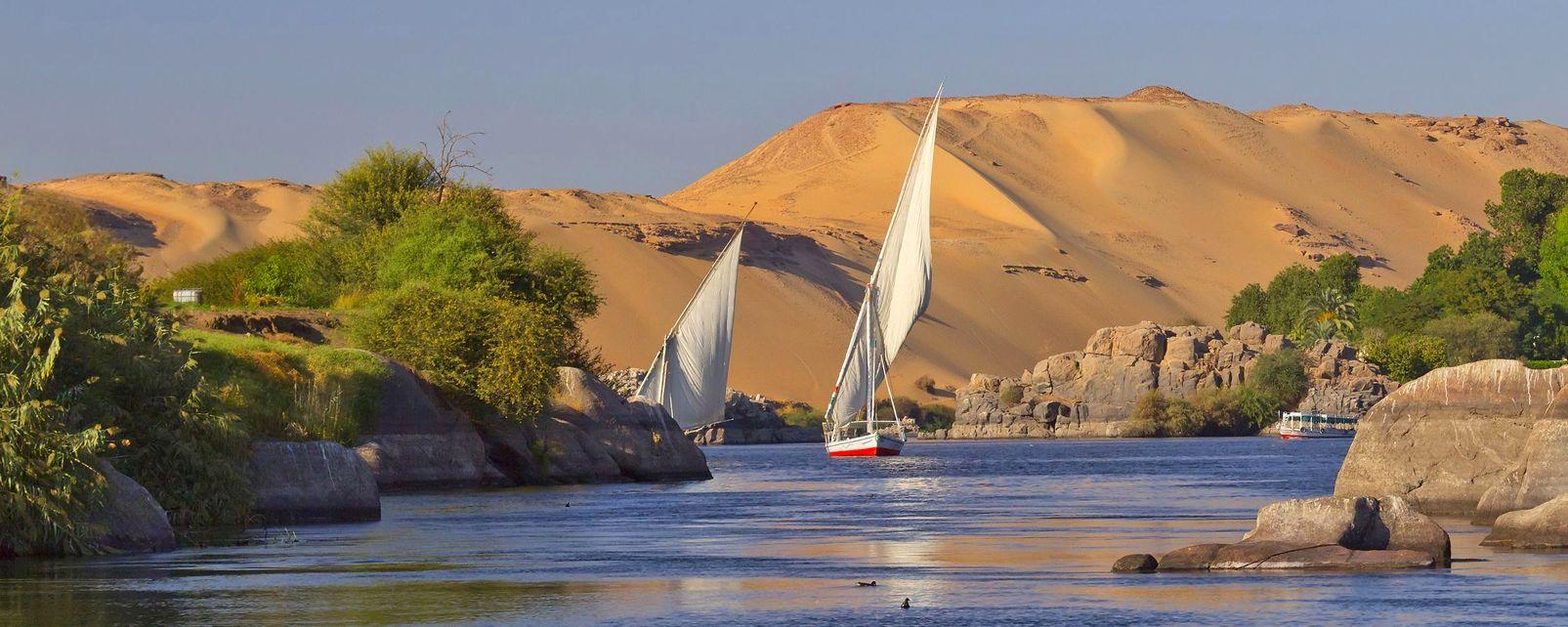 Das Niltal, Die Landschaften, Luxor, Ägypten