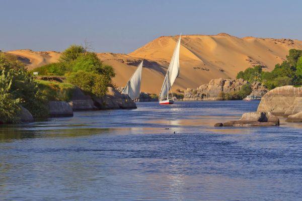 Das Niltal , Ägypten