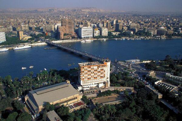 La vallée du Nil , Delta du Nil Le Caire , Egypte