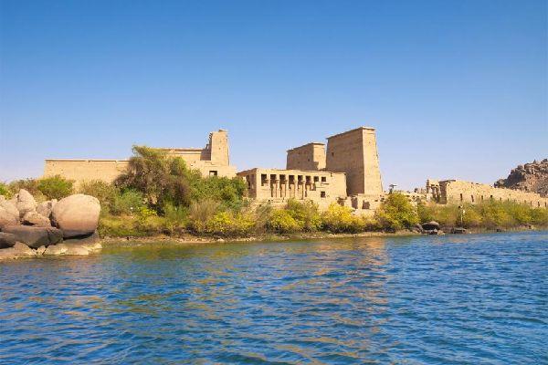 La vallée du Nil , Sites antiques du Nil , Egypte