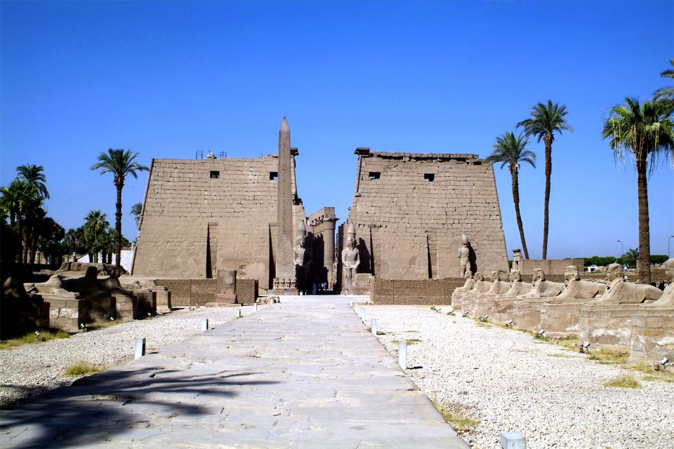 Le temple de Louxor, Le temple d'Amon à Louxor, Les sites, Egypte