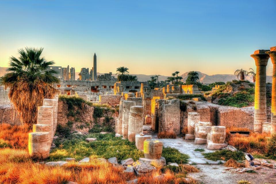Tempio Deir el-bahari, Luxor, I siti, Egitto
