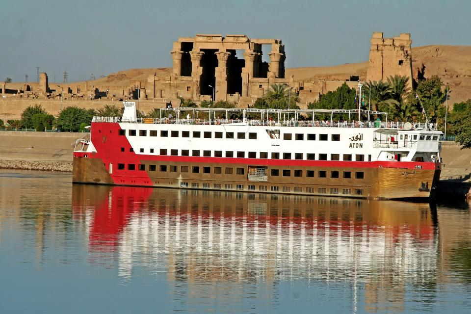 The Nile temples , The Temple of Kom Ombo , Egypt