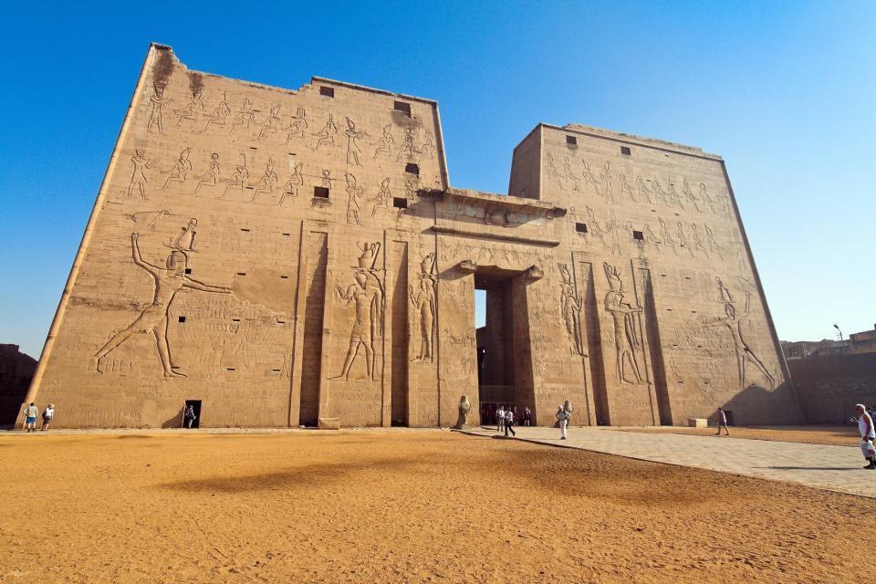Die Niltempel , Der Tempel von Edfu , Ägypten
