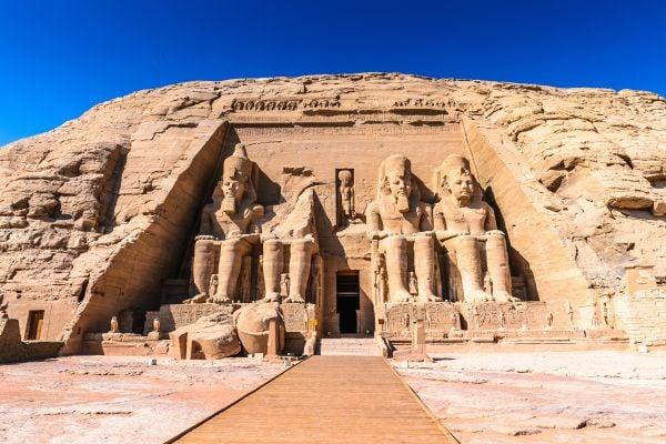 Abou Simbel und die anderen Tempel des Nassersees , Der Tempel von Ramses II , Ägypten