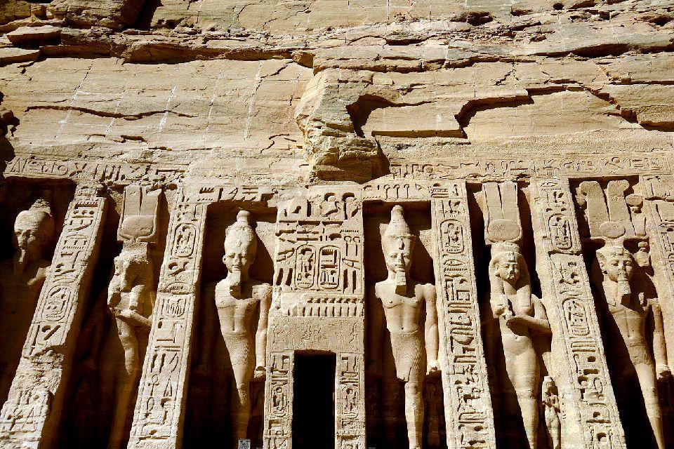 Abou Simbel und die anderen Tempel des Nassersees , Der Trajanskiosk , Ägypten